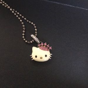 Jewelry - Kimora Lee Simmons princess Hello Kitty necklace